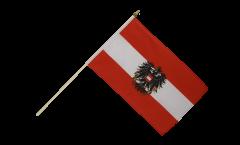 Austria with eagle Hand Waving Flag