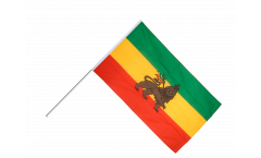 Ethiopia old Hand Waving Flag