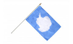 Antarctic Hand Waving Flag - 12 x 18 inch