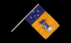 Australia Capital Territory Hand Waving Flag
