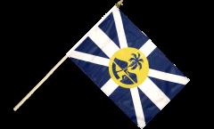 Australia Lord Howe Island Hand Waving Flag - 12 x 18 inch