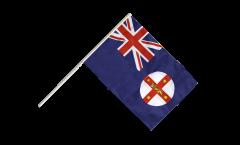 Australia New South Wales Hand Waving Flag