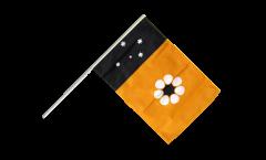 Australia Northern Territory Hand Waving Flag