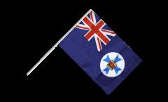 Australia Queensland Hand Waving Flag