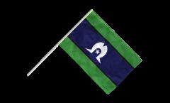 Australia Torres Strait Islands Hand Waving Flag