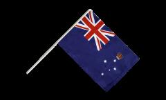 Australia Victoria Hand Waving Flag