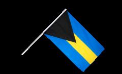 Bahamas Hand Waving Flag