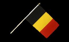 Belgium Hand Waving Flag - 12 x 18 inch