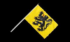 Belgium Flanders Hand Waving Flag