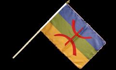 Berber Amazigh Hand Waving Flag - 12 x 18 inch
