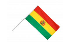 Bolivia Hand Waving Flag