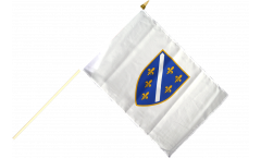 Bosnia old 1992-1998 Hand Waving Flag