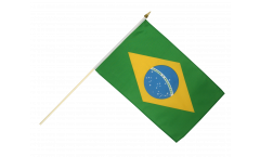 Brazil Hand Waving Flag