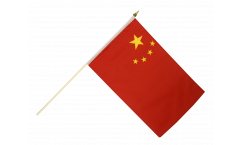 China Hand Waving Flag - 12 x 18 inch