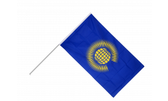 Commonwealth Hand Waving Flag