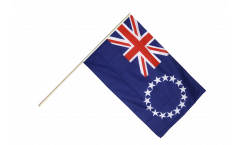 Cook Islands Hand Waving Flag