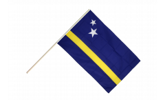 Curacao Hand Waving Flag