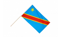 Democratic Republic of the Congo Hand Waving Flag