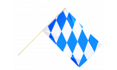 Germany Bavaria without crest Hand Waving Flag