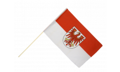 Germany Brandenburg Hand Waving Flag