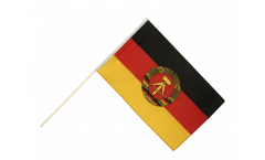 Germany GDR Hand Waving Flag