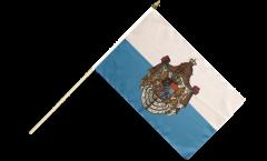 Germany Kingdom of Bavaria 1806-1918 Hand Waving Flag