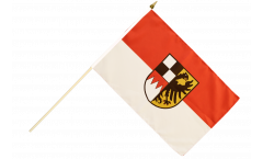 Germany Middle Franconia Hand Waving Flag - 12 x 18 inch