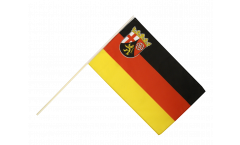 Germany Rhineland-Palatinate Hand Waving Flag
