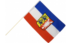 Germany Schleswig-Holstein Hand Waving Flag