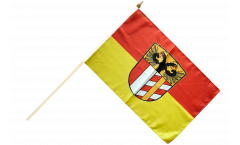 Germany Swabia Hand Waving Flag - 12 x 18 inch