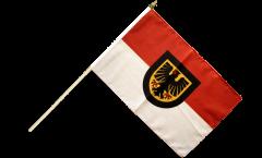 Germany Dortmund Hand Waving Flag