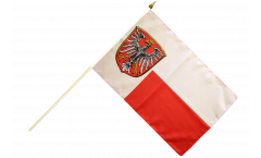 Germany Frankfurt Hand Waving Flag - 12 x 18 inch