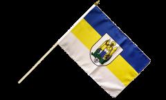 Germany Jena Hand Waving Flag