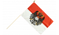 Germany Cologne with big crest Hand Waving Flag - 12 x 18 inch