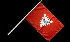 Germany Kiel Hand Waving Flag - 12 x 18 inch