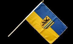 Germany Leipzig Hand Waving Flag