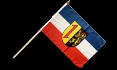 Germany Mannheim Hand Waving Flag