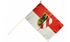 Germany Nürnberg Nuremberg Hand Waving Flag - 12 x 18 inch