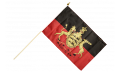 Germany Württemberg 2 Hand Waving Flag - 12 x 18 inch