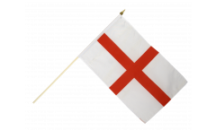 England St. George Hand Waving Flag - 12 x 18 inch