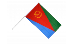 Eritrea Hand Waving Flag