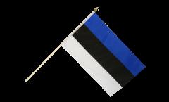 Estonia Hand Waving Flag - 12 x 18 inch