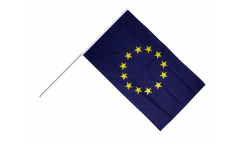 European Union EU Hand Waving Flag