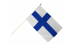 Finland Hand Waving Flag - 12 x 18 inch