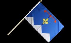 France Alpes-de-Haute-Provence Hand Waving Flag - 12 x 18 inch