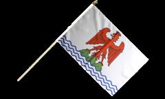 France Alpes-Maritimes Hand Waving Flag - 12 x 18 inch