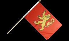 France Aveyron Hand Waving Flag - 12 x 18 inch