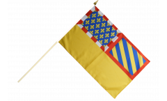France Côte-d'Or Hand Waving Flag - 12 x 18 inch