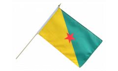 France French Guiana Hand Waving Flag