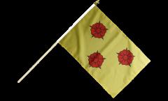 France Grenoble Hand Waving Flag - 12 x 18 inch